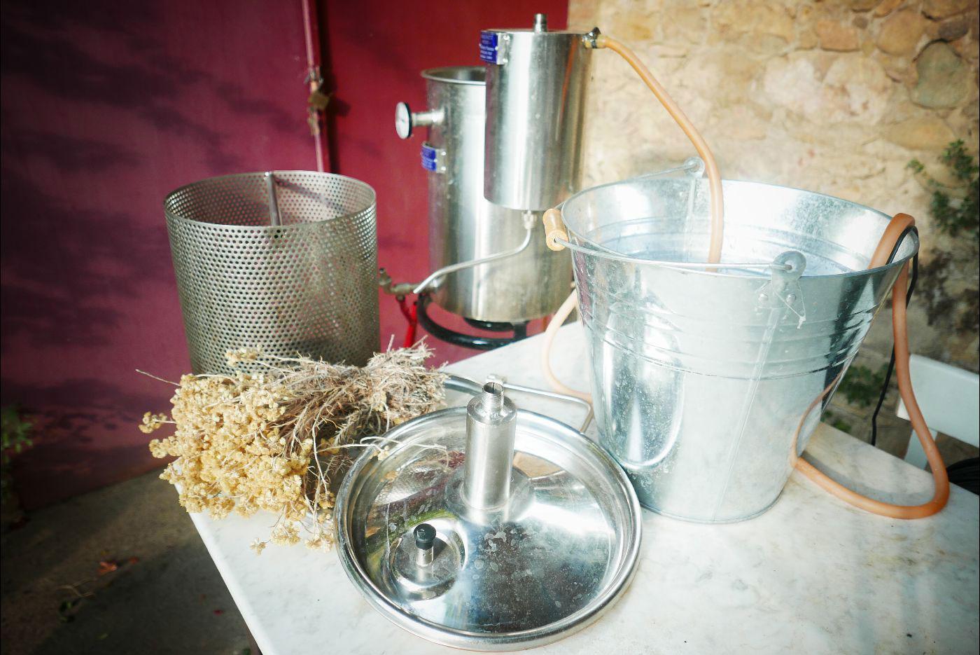 Primeras destilaciones